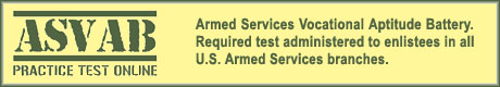 Armed Services Vocational Aptitude Battery Test